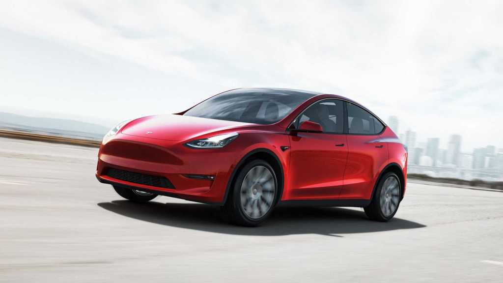 Tesla Model Y launched in another country