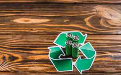 The process of recycling electronic waste!