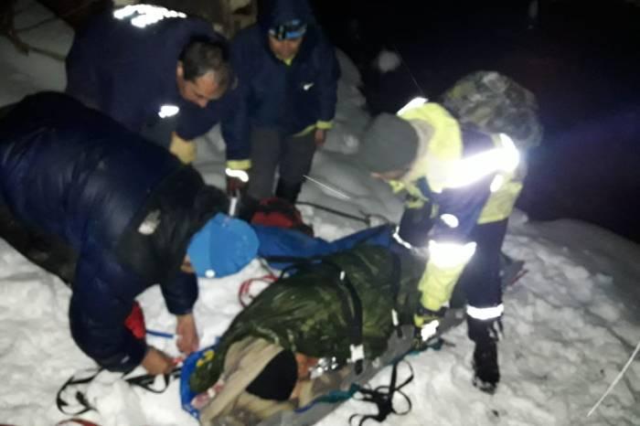 Rescatan de la Cordillera, a un herido de arma de fuego