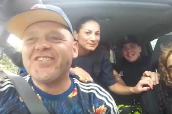 Escándalo: el Pepo se grabó cantando con tres policías y fueron sancionados