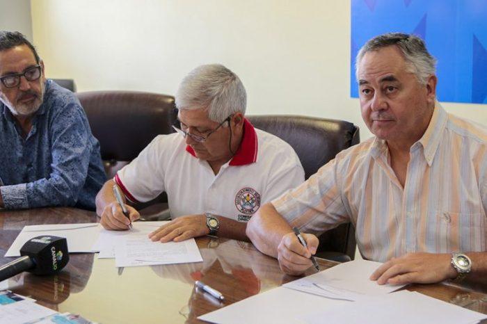 Bomberos Voluntarios de Plottier firmaron el primer convenio para ser parte del ISSN
