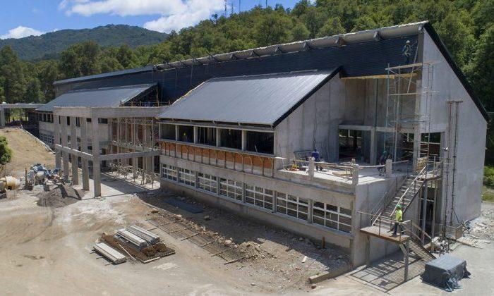 Continúa la obra de la EPET 21 de San Martín de los Andes