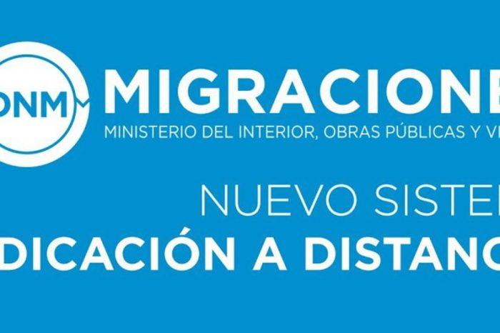 Nuevo sistema de gestión de turnos para trámites migratorios