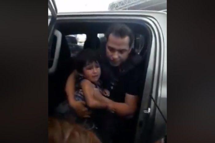 Rescataron a un nene que habían dejado encerrado en una camioneta