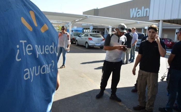 Paro en el hipermercado Wal-Mart