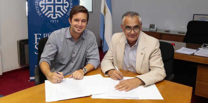 El gobierno provincial y la Universidad Nacional del Comahue firmaron convenios de colaboración