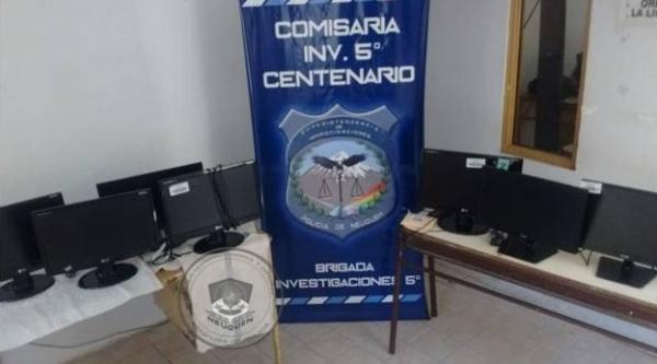 Recuperan elementos robados en varios allanamientos