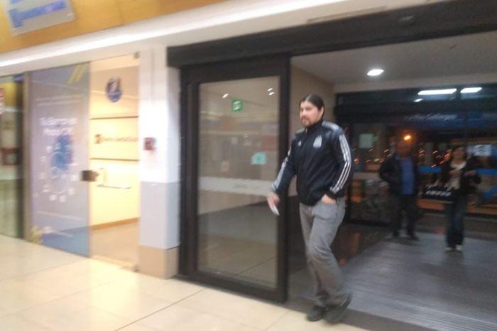 Martín Báez quedó detenido
