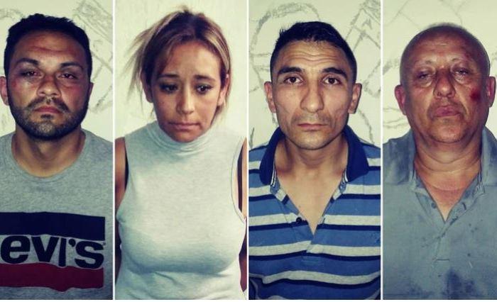 Expulsarán del país a cuatro colombianos que robaban vehículos con un inhibidor de alarmas