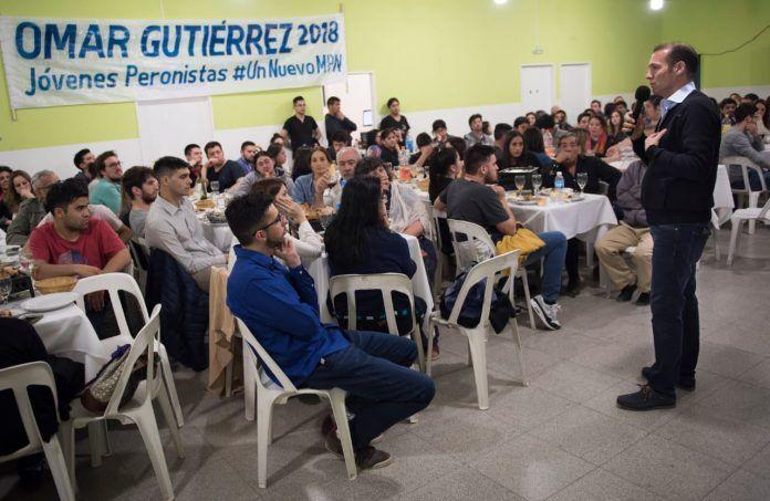 """Jóvenes Peronistas: """" Gutiérrez es el mejor dirigente para seguir gobernando Neuquén"""""""