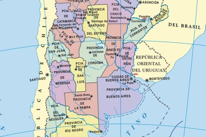 Mapas de la Argentina gratis: todas las provincias para descargar e imprimir