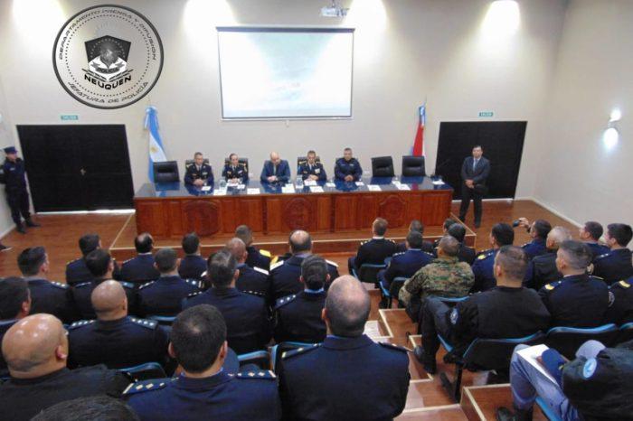 Personal de la Policía del Neuquén, participó en capacitaciones a nivel nacional