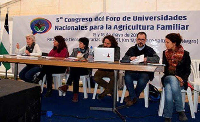 Finalizó el Quinto Congreso del Foro de las Universidades Nacionales para la Agricultura Familiar