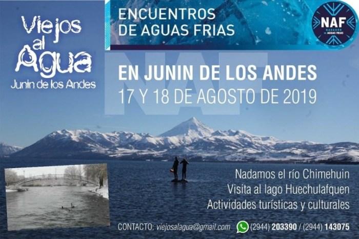 """Junín de los Andes, ya llega """"Viejos al Agua"""""""