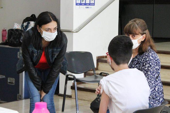 Jornada de vacunación: el sábado se aplicaron 343 dosis en Neuquén capital