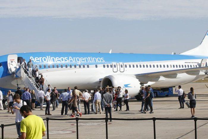 Se retomaron vuelos de Neuquén a Buenos Aires a través de Aeroparque