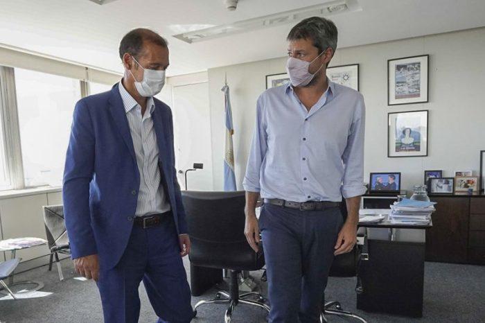 Gutiérrez se reunió con el ministro Lammens