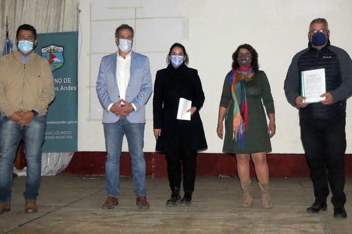 Sanucci, Corazini y Corradi Diez firman convenio de colaboración y trabajo en conjunto ante problemáticas sociales