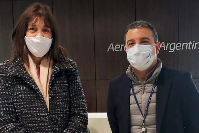 Neuquén sumará frecuencias de Aerolíneas Argentinas