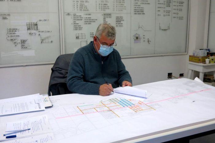"""Corazini firmó convenio del proyecto """"Plan de mejoras del casco Urbano"""""""