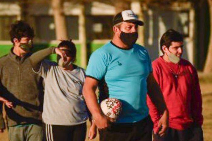 """""""Hualas XV"""" viajará a la 2° Copa Derribando Barreras de rugby inclusivo"""