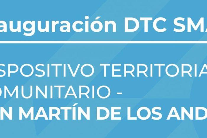 Inaugurarán Dispositivo Territorial Comunitario en San Martín de los Andes