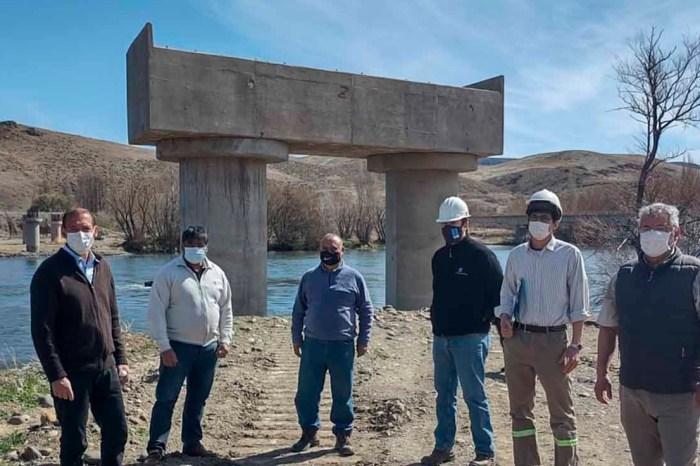 Reinician los trabajos en el puente de La Rinconada luego de la veda climática