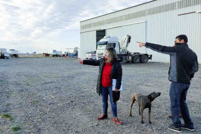 Verifican inversiones en el Parque Industrial de Neuquén