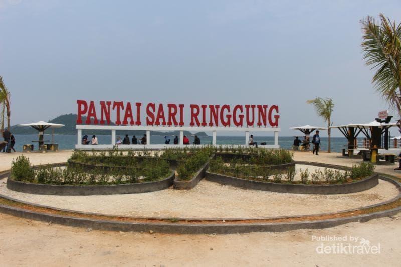 Pantai Sari Ringgung, Pantai Eksotis di Lampung