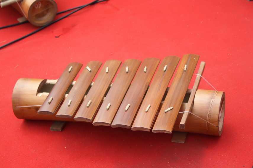 cetik alat musik khas lampung