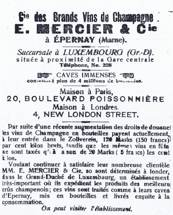 Chamapgne Mercier