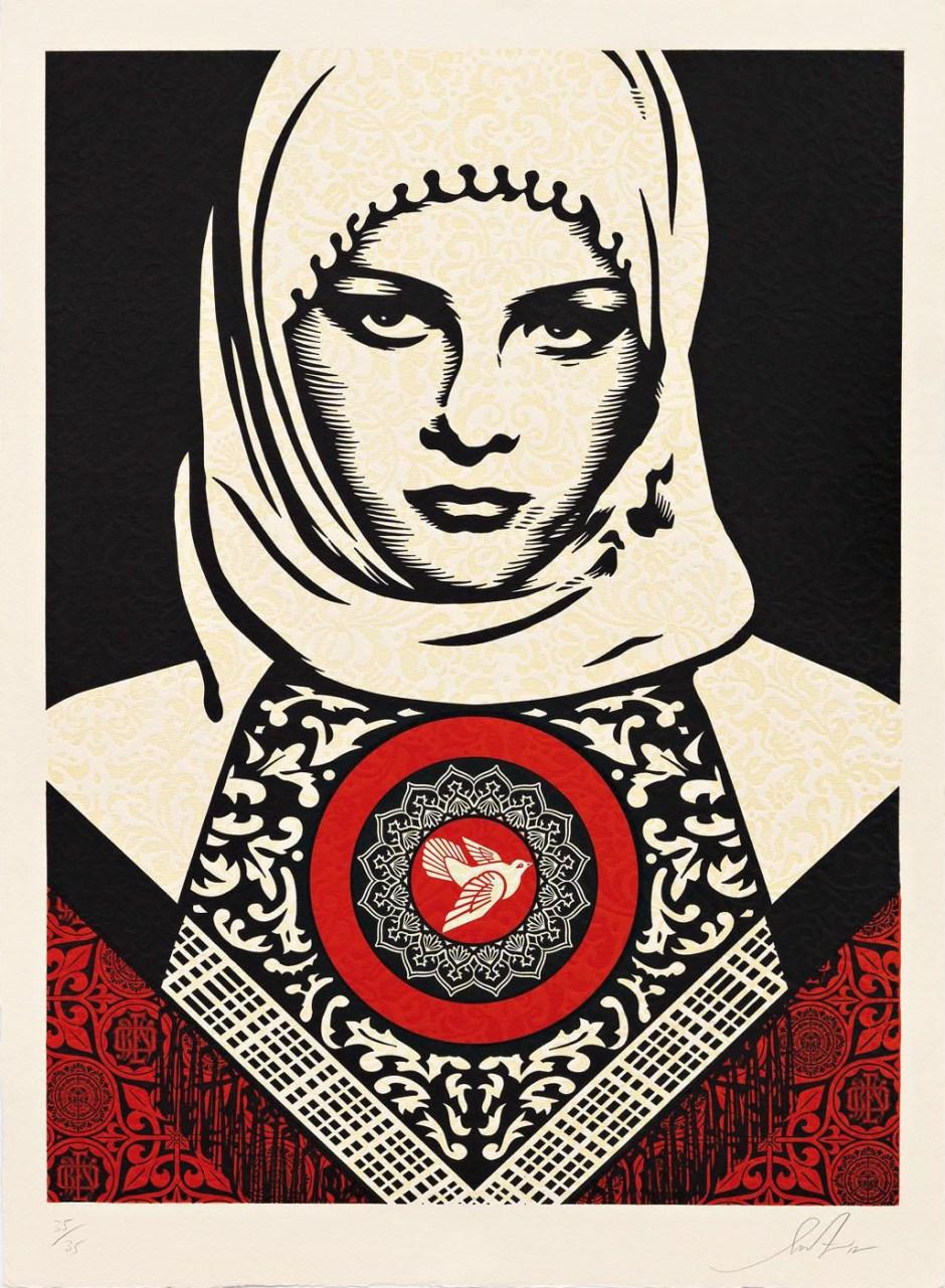 Shepard-Fairey-Arab-Woman-2012