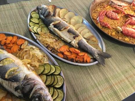 lubinas-salvajes-y-paella-de-bogavante