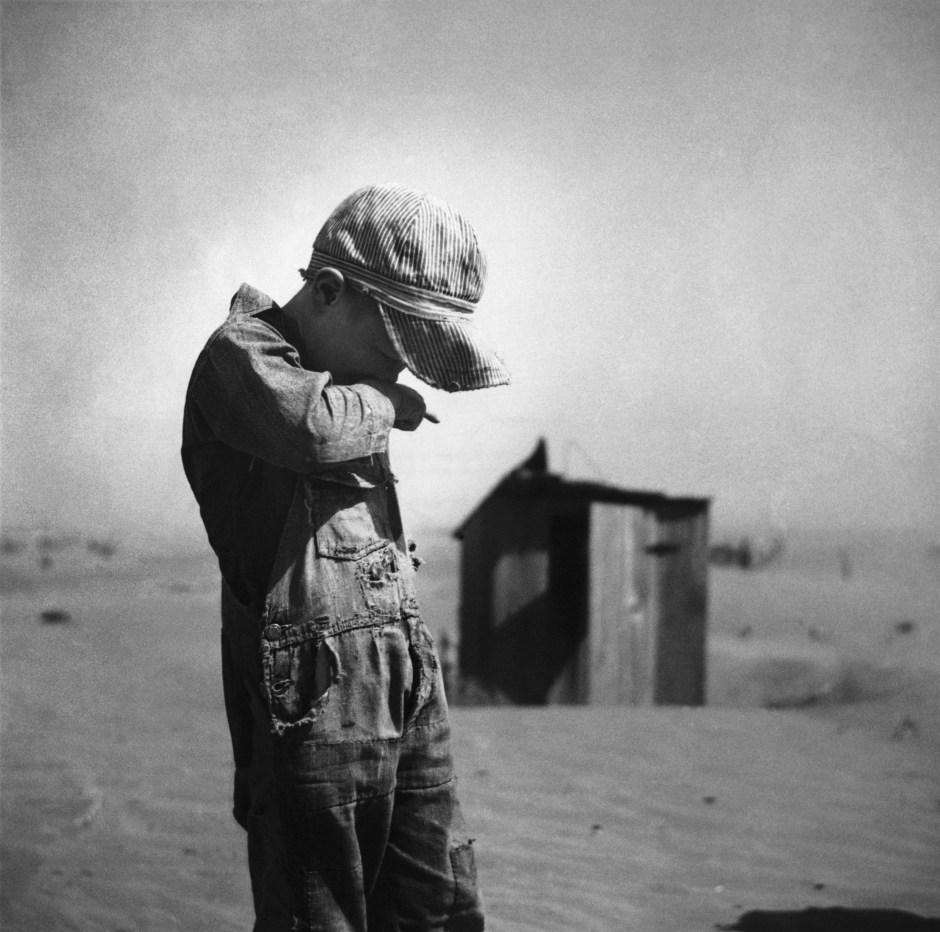 Boy in Dust Bowl