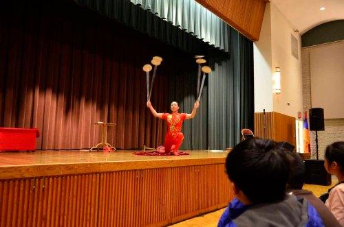 First Night Worcester 2016 (Chinese acrobat Li Liu)