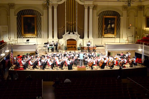 First Annual Four Orchestras Festival