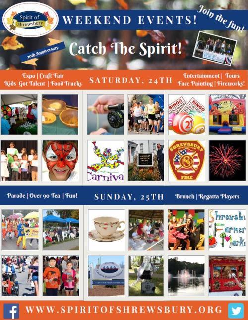 Spirit of Shrewsbury Fall Festival 2016