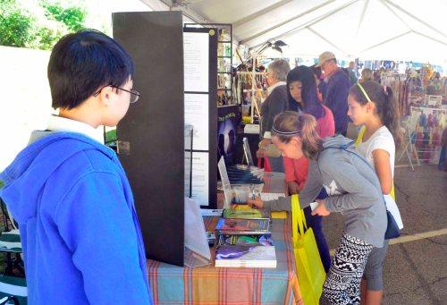 Spirit of Shrewsbury Fall Festival 2016 Bookselling