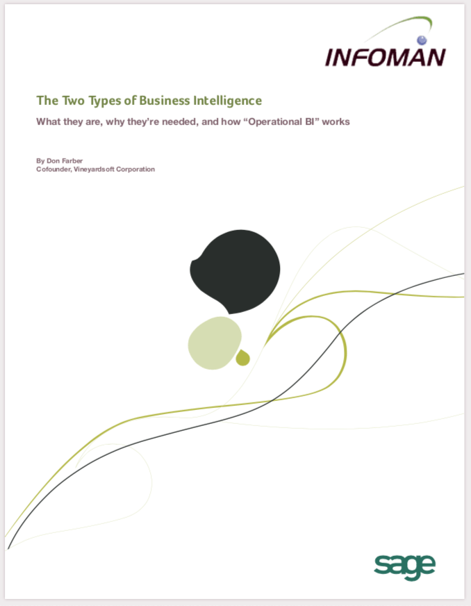 Two Types of Business Intelligence • Which One Do You Need?