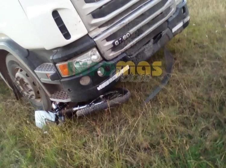 Trágico choque en Irigoyen: falleció un joven motociclista