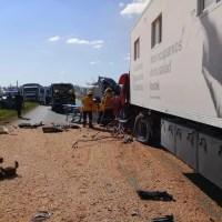 Confirmaron una víctima fatal tras el accidente entre camiones en Ruta 34