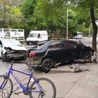 Impactante choque en San Lorenzo: una joven herida