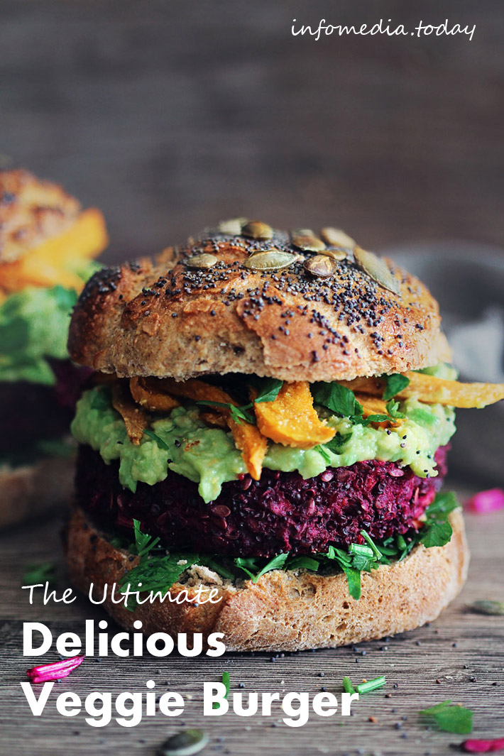 The Ultimate Delicious Veggie Burger