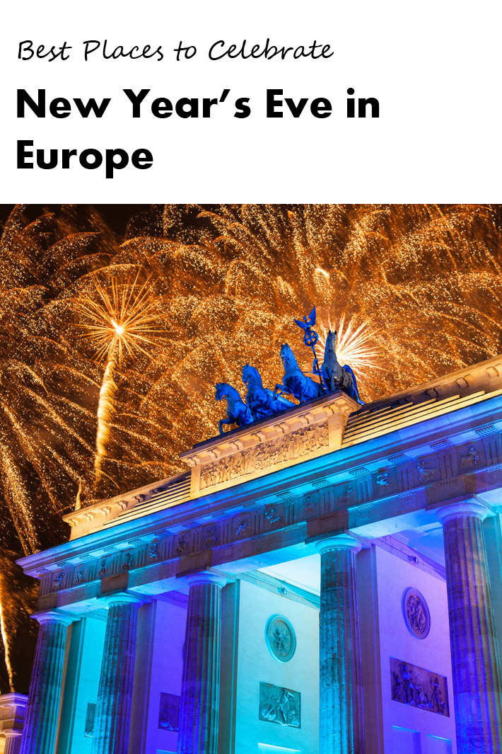 Best Places to Celebrate New Year's Eve in Europe