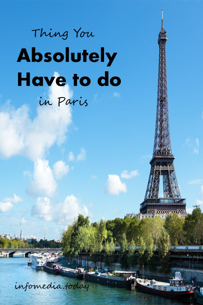 Things You Absolutely Have to Do in Paris