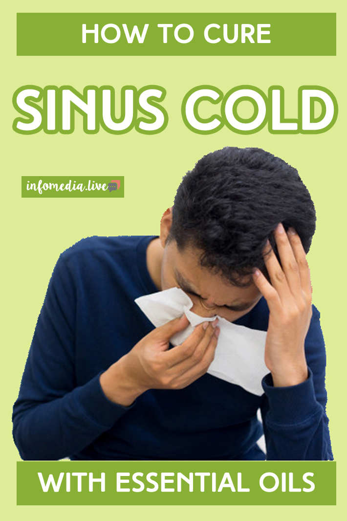 How to Cure a Sinus Cold With Essential Oils