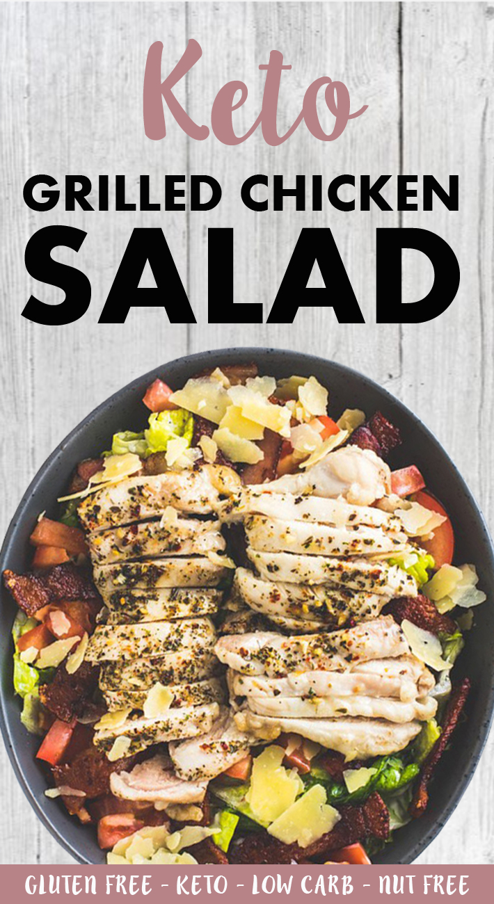 Keto Grilled Chicken Salad