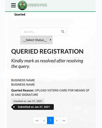 Solve CAC Queried Registration