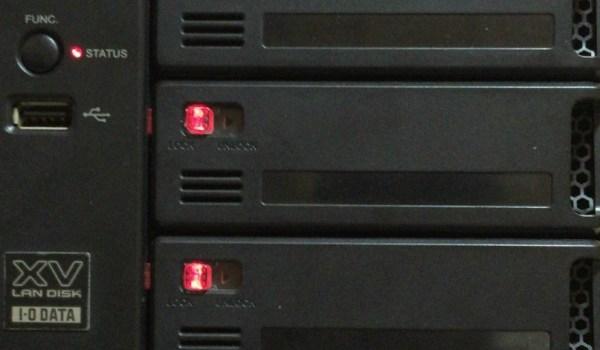 IO DATA LAN DISKからのデータ復旧