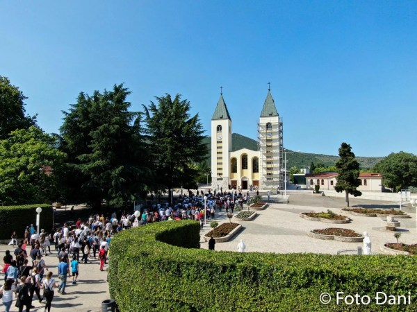Hoy tuvo lugar la 28a Marcha por la Paz en Medjugorje